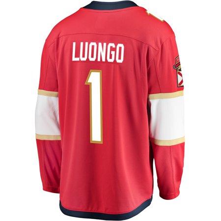 Roberto Luongo Florida Panthers Nhl Fanatics Breakaway Home Jersey