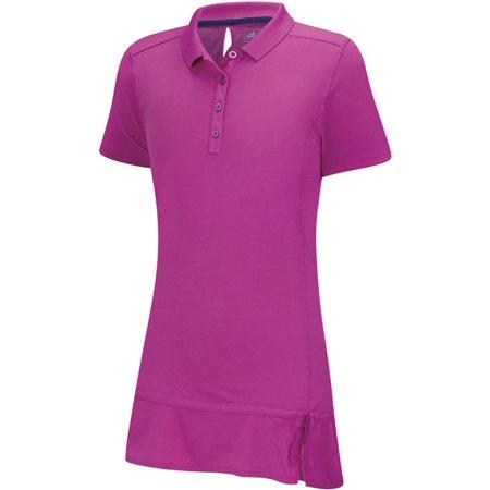 Adidas ClimaLite 2 Color Stripe Golf Polo 2015 (Adidas Golf Mens Climalite 3 Stripes Tech Pant)