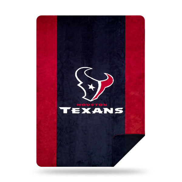 Houston Texans The Northwest Company 60'' x 72'' Denali Silver Knit Throw - No Size