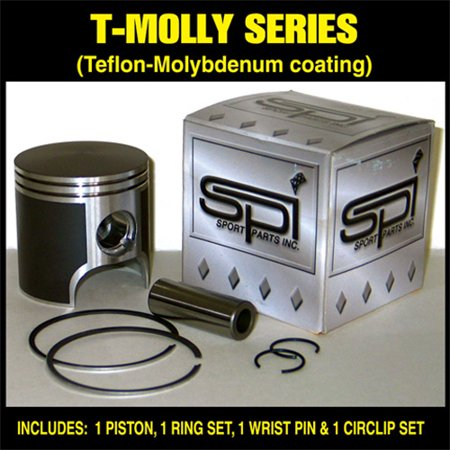 2004-05 Polaris 800 EDGE TOURING 794 CC L/C 09-730   Piston Kit With Rings Teflo