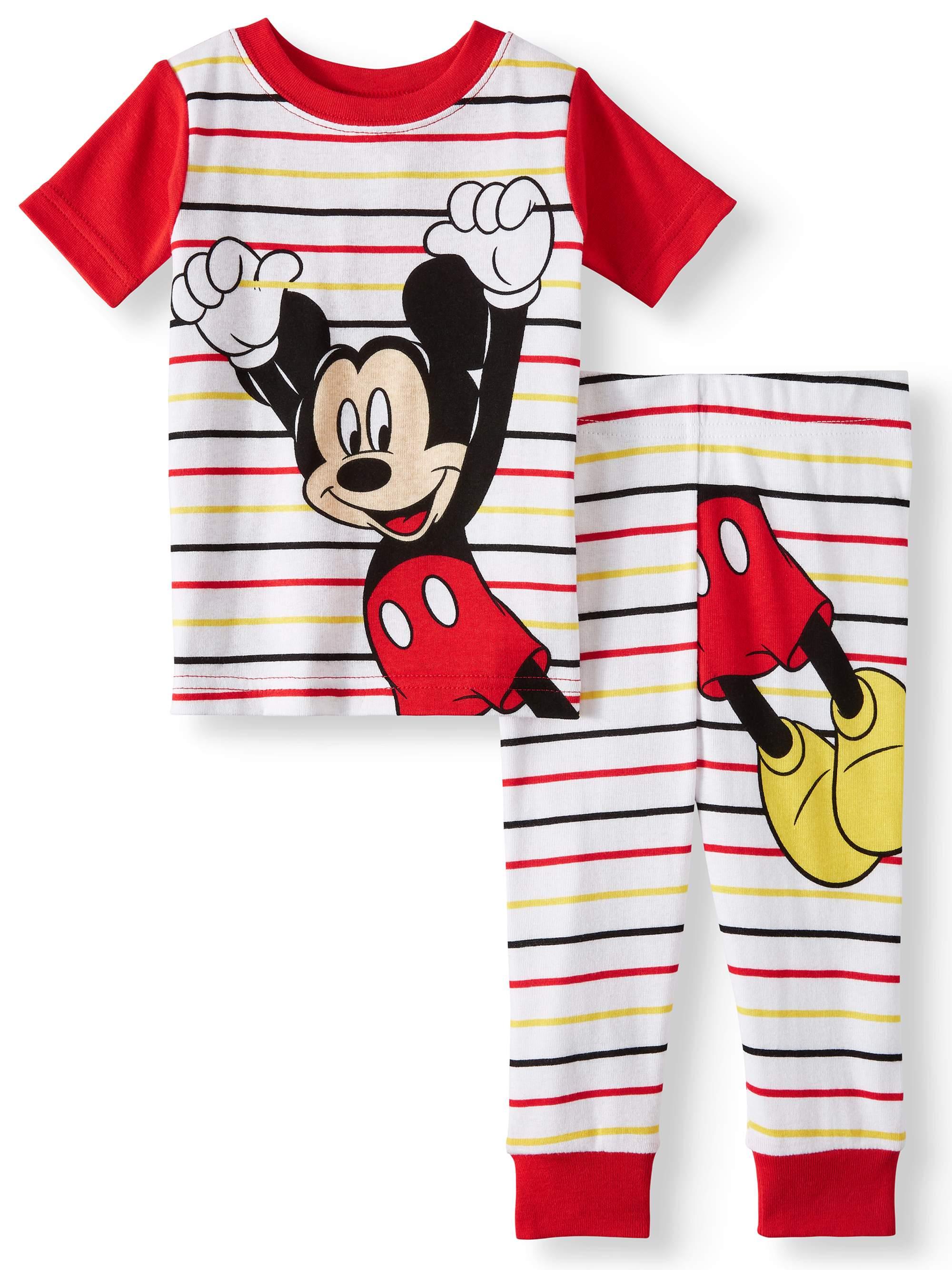 Cotton Tight Fit Pajamas, 2pc Set (Baby Boys)