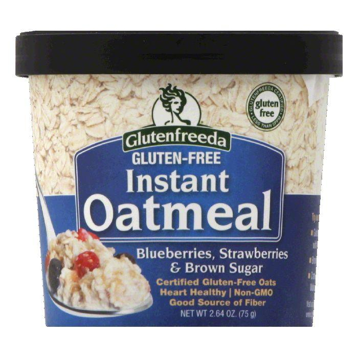 Glutenfreeda Gluten Free Blueberries Instant Oatmeal, 2.64 Oz (Pack of 12)