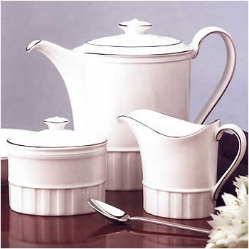 Colosseum Platinum Tea Saucer, White bone china By Wedgwood