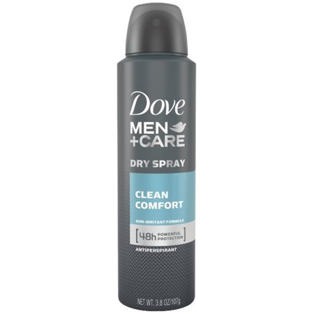 Dove Men+Care Dry Spray Antiperspirant Deodorant Clean Comfort Clean Body Spray