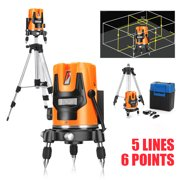 Best Laser Line Levels - Professional Automatic Self Leveling 5 Line 6 Point Review