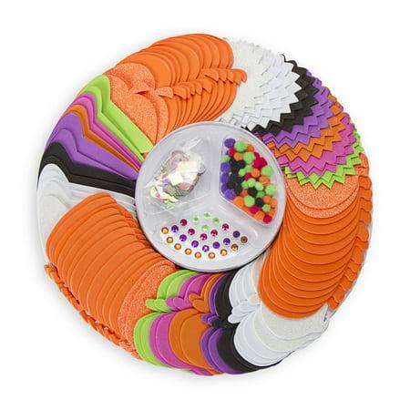 Foamies Halloween Party Platter: Foam Shapes & More, 449 pieces (Halloween Party Platter Ideas)