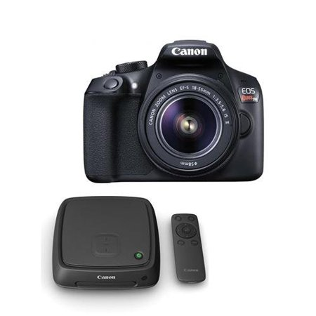 Canon Eos Rebel T6 Digital Slr Camera Kit With Ef S 18 55Mm F 3 5 5 6 Is Ii Lens   With Canon Connect Station Cs100