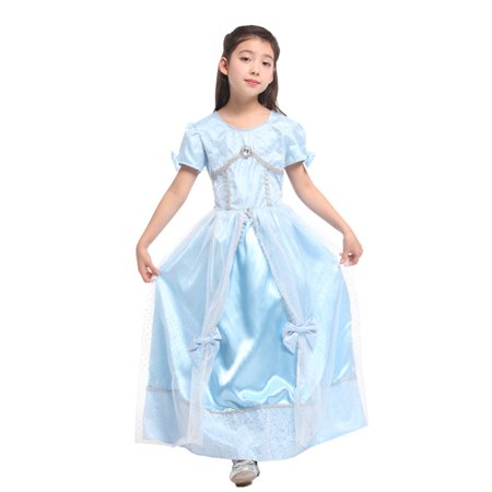 Girls' Disney Princess Cinderella Dress-Up Play Costume (Dress Up Accessories For Girls)