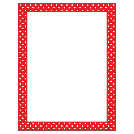 Polka Dot Paper (POLKA DOTS RED TERRIFIC)