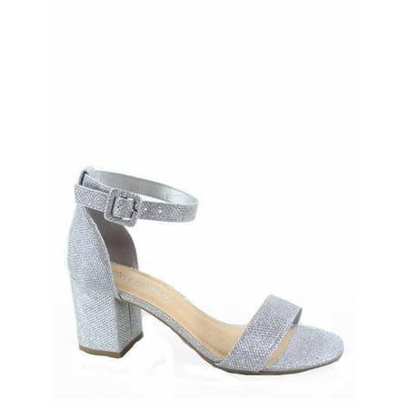 e1c96ed967d Cityclassfied - Cake-S Women s Fashion Open Toe Ankle Strap Buckle Low Chunky  Heels Dress Sandals Shoes - Walmart.com