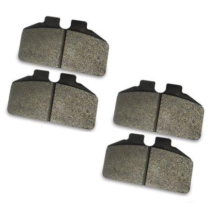 Titanium Brace (AFCO 6656012 F33 Titanium Compound Brake Pads for 1/4 Inch Rotor )