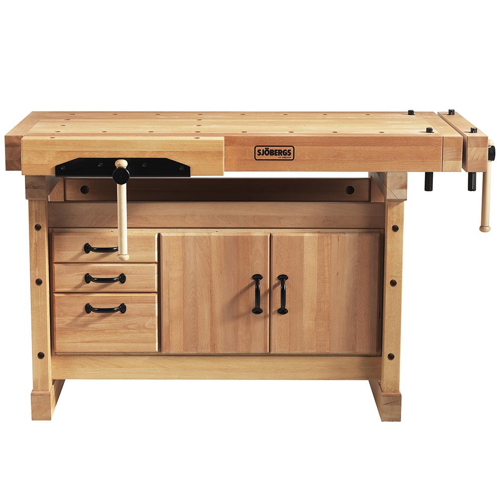 Sjobergs SJO-66703K Professional Elite Workbench Elite Storage Cabinet Combo by