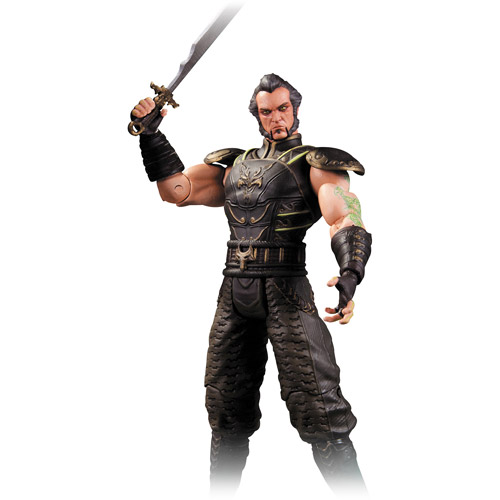 DC Comics Batman Arkham City Series 3 Ra's al Ghul Action Figure