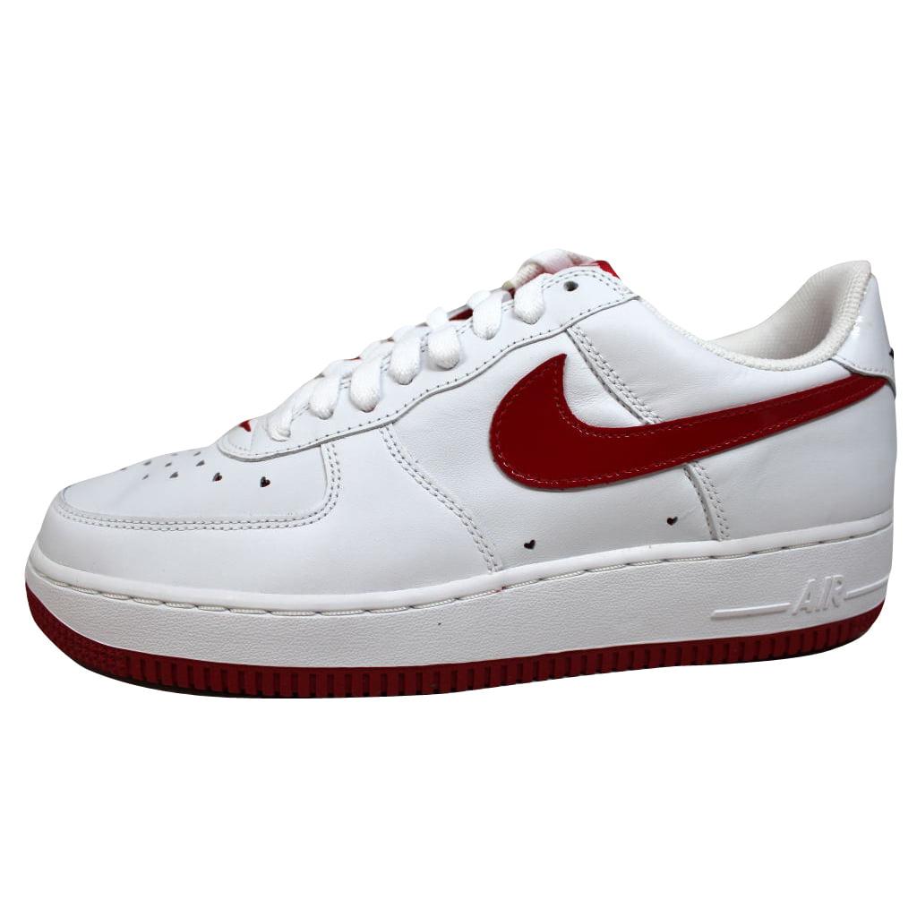 Nike Nike Women S Air Force I 1 Valentine S Day White Varsity Red