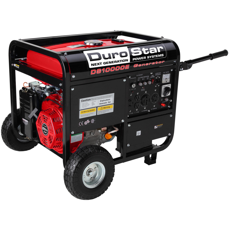DuroStar  10,000 Watt 16.0 HP Gas Generator w/ Electric S...