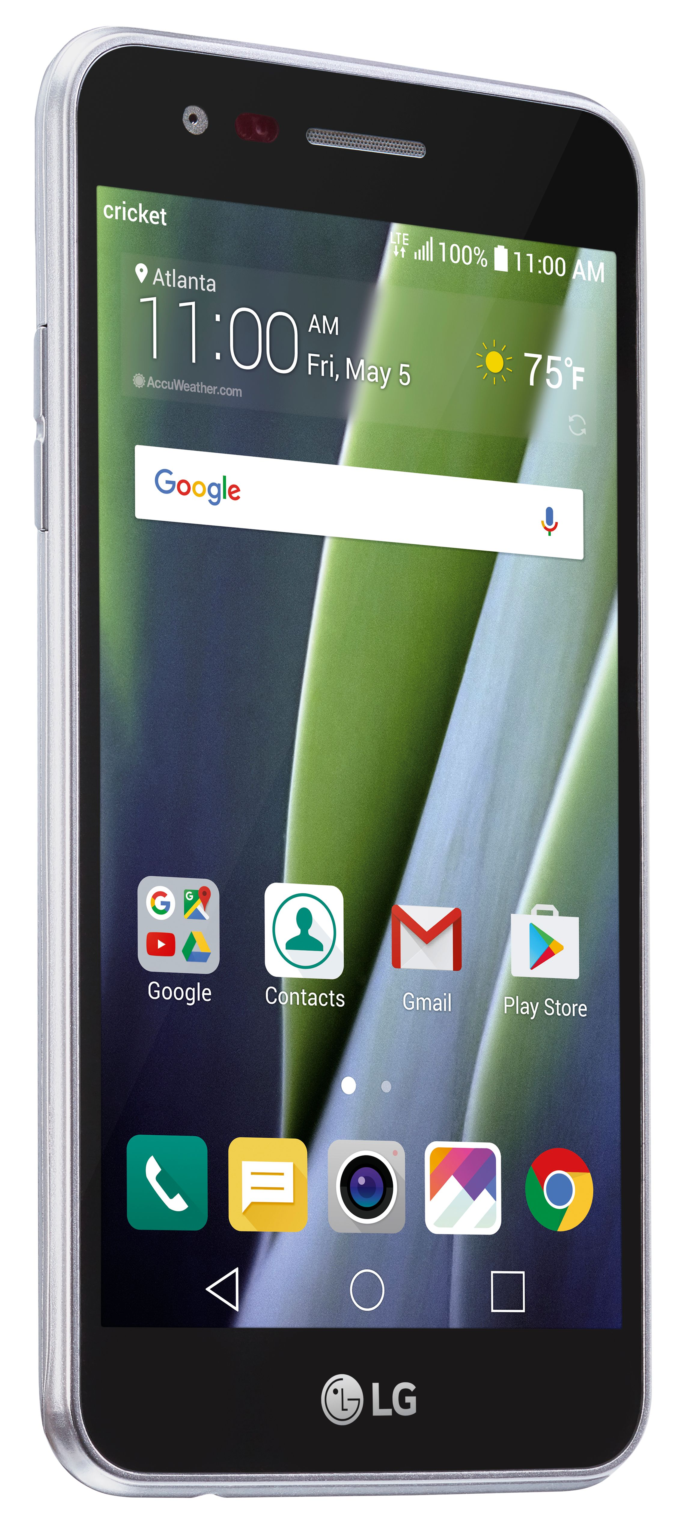 Cricket Lg Risio 2 Smartphone With Touchscreen Walmart Com