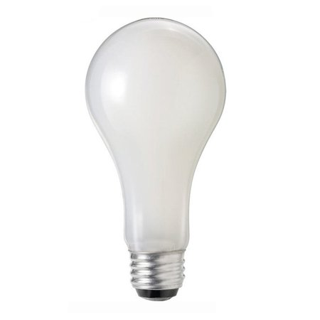 Philips 50w 100w 150w A-Shape A21 3 Contact DuraMax Three Way Incandescent Light (100w G40 Incandescent Bulb)