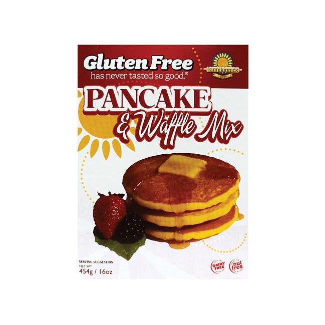 Kinnikinnick Gluten Free Pancake and Waffle Mix, 16 Oz by Kinnikinnick