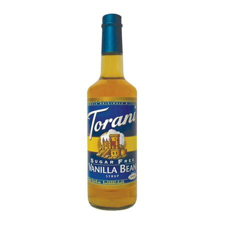 Torani Vanilla Bean Syrup Sugar Free