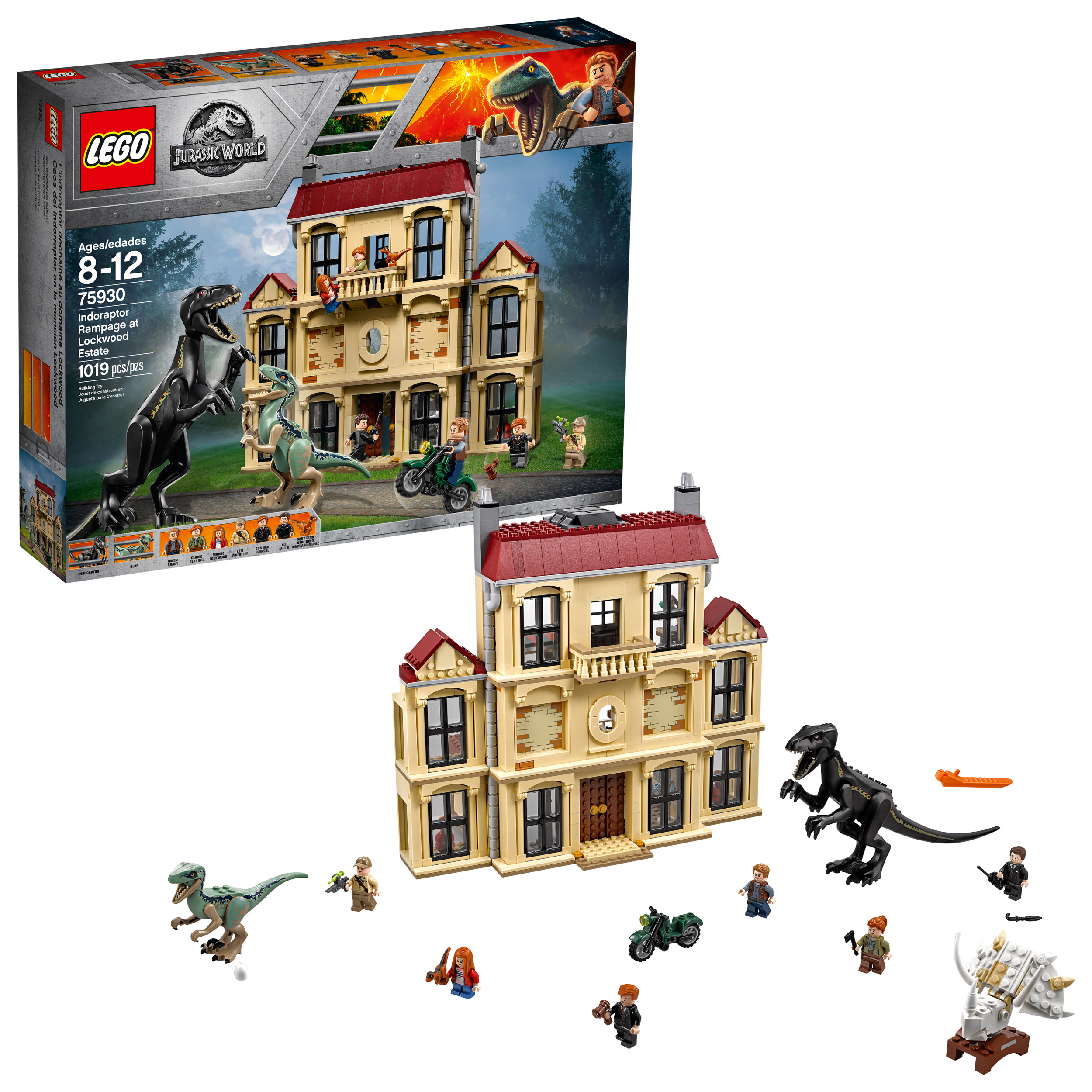 Lego Jurassic World Indoraptor Rampage at Lockwood Estate 75930 by LEGO System Inc