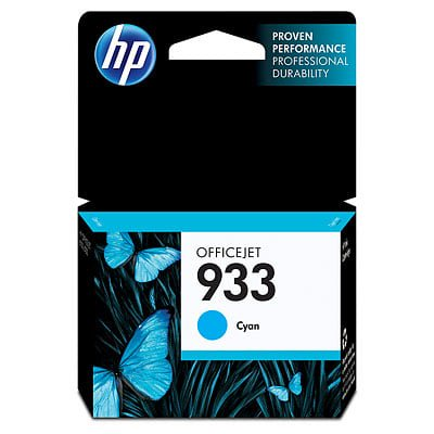 - HP 933 Cyan Original Ink Cartridge