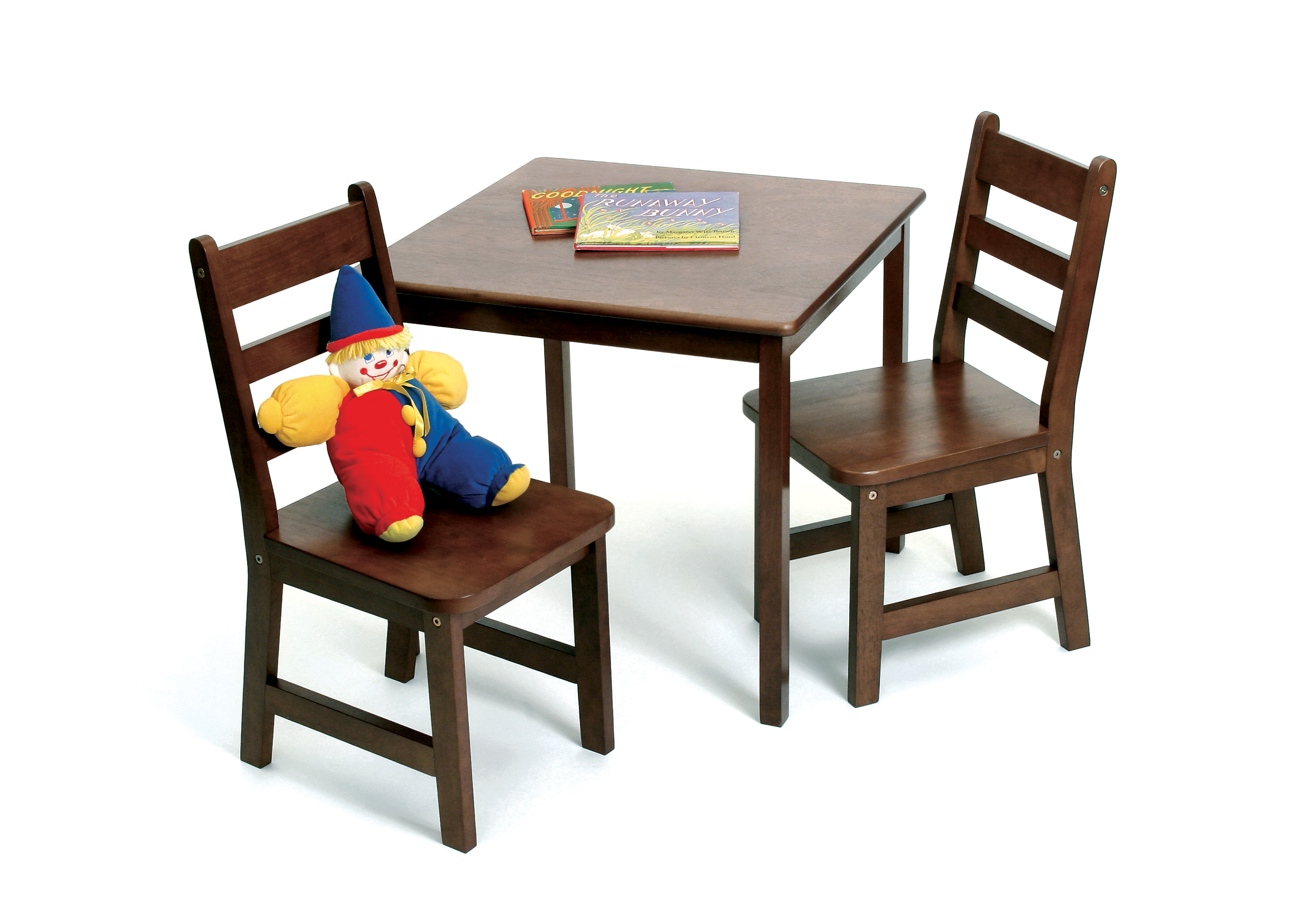 Lipper Child S Square Table Chairs 3