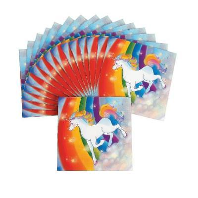 IN-70/7741 Unicorn Luncheon Napkins 16 Piece(s) 2PK