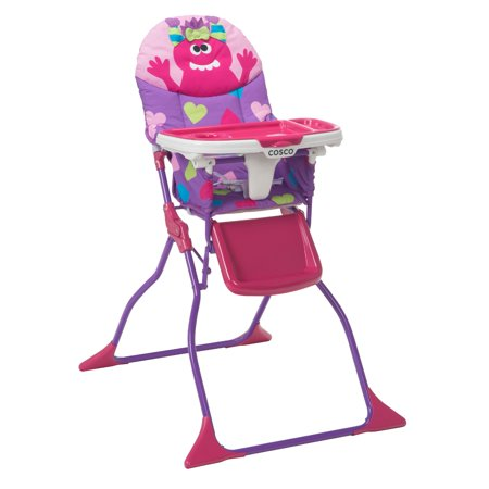 Cosco Simple Fold™ Deluxe High Chair, Monster Shelley - Monsters Inc Babies