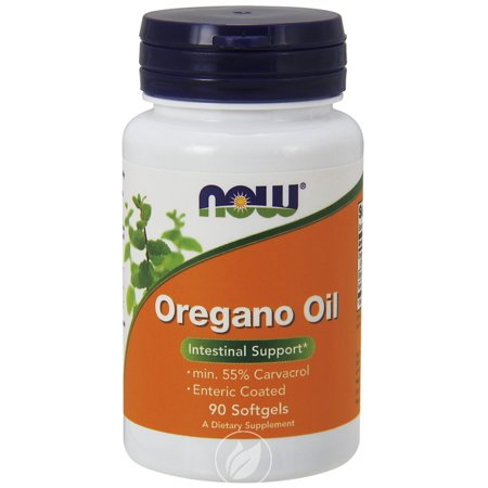 Now Foods Oregano Oil Enteric Coated 90 Gels , Pack of 2