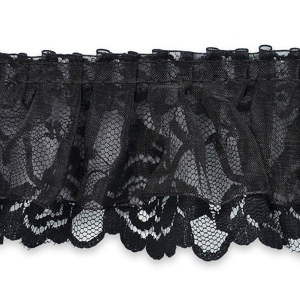 Expo Int'l 5 yards of Organza and Lace Trim