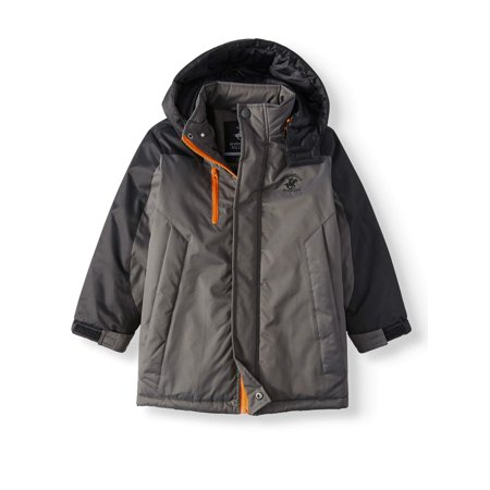Atomic Kids Ski - Beverly Hills Polo Club Ski Jacket with Removable Hood & Fleece Lining (Little Boy)