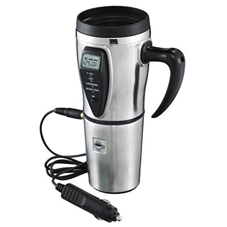 Tech Tools Heated Smart Travel Mug with Temperature Control 12V - Stainless (Best Tech Travel Accessories)