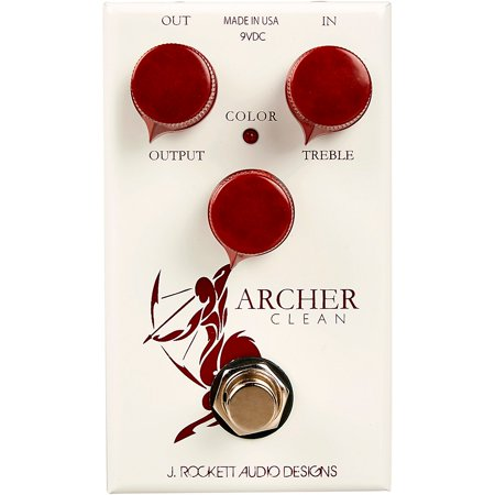 Pan Effects Pedal (Rockett Pedals Archer Clean Boost Effects Pedal)