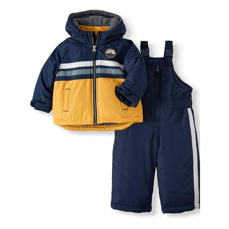 Child of Mine by Carter's Baby & Toddler Boys Bubble Jacket & Ski Bib, 2-Pc. Set Toddler Jackets Shop
