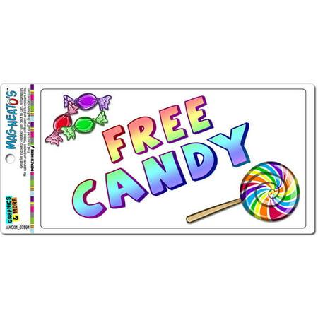 Candy Cars (Free Candy Inside Automotive Car Refrigerator Locker Vinyl)