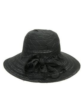 Chic Headwear Beach Hat w/ Side Bow