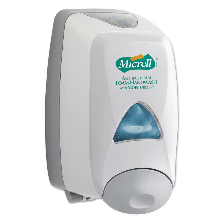FMX-12 Soap Dispenser, 6 1/5w x 5-1/10 d x 9-4/5h, 1250 ml, Dove Gray