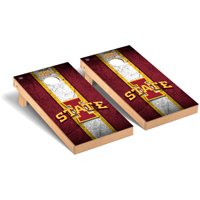 Iowa State Cyclones 2' x 4' Vintage Museum Cornhole Board Tailgate Toss Set - No Size