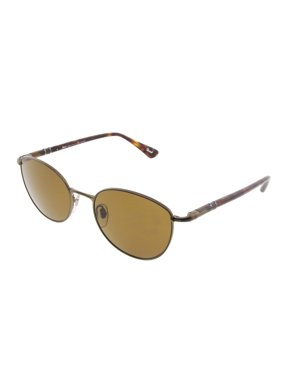 202eeea8dc7fa Product Image Persol Polarzied Round Sunglasses 52mm Havana