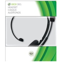 Microsoft Xbox 360 Headset, Black, P5F-00001, 00885370116618