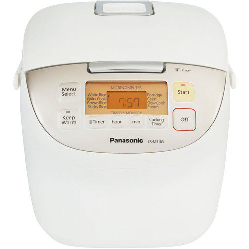 Panasonic 10-cup Fuzzy Logic Rice Cooker