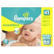Product of 'Pampers' Swaddlers Size 2 Diapers; 168 ct. - Bulk Qty, Free Shipping - Comfortable, Soft, No Leaking & Good nite Diapers