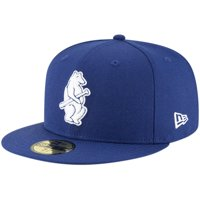 Chicago Cubs New Era Cooperstown Collection Wool 59FIFTY Fitted Hat - Royal