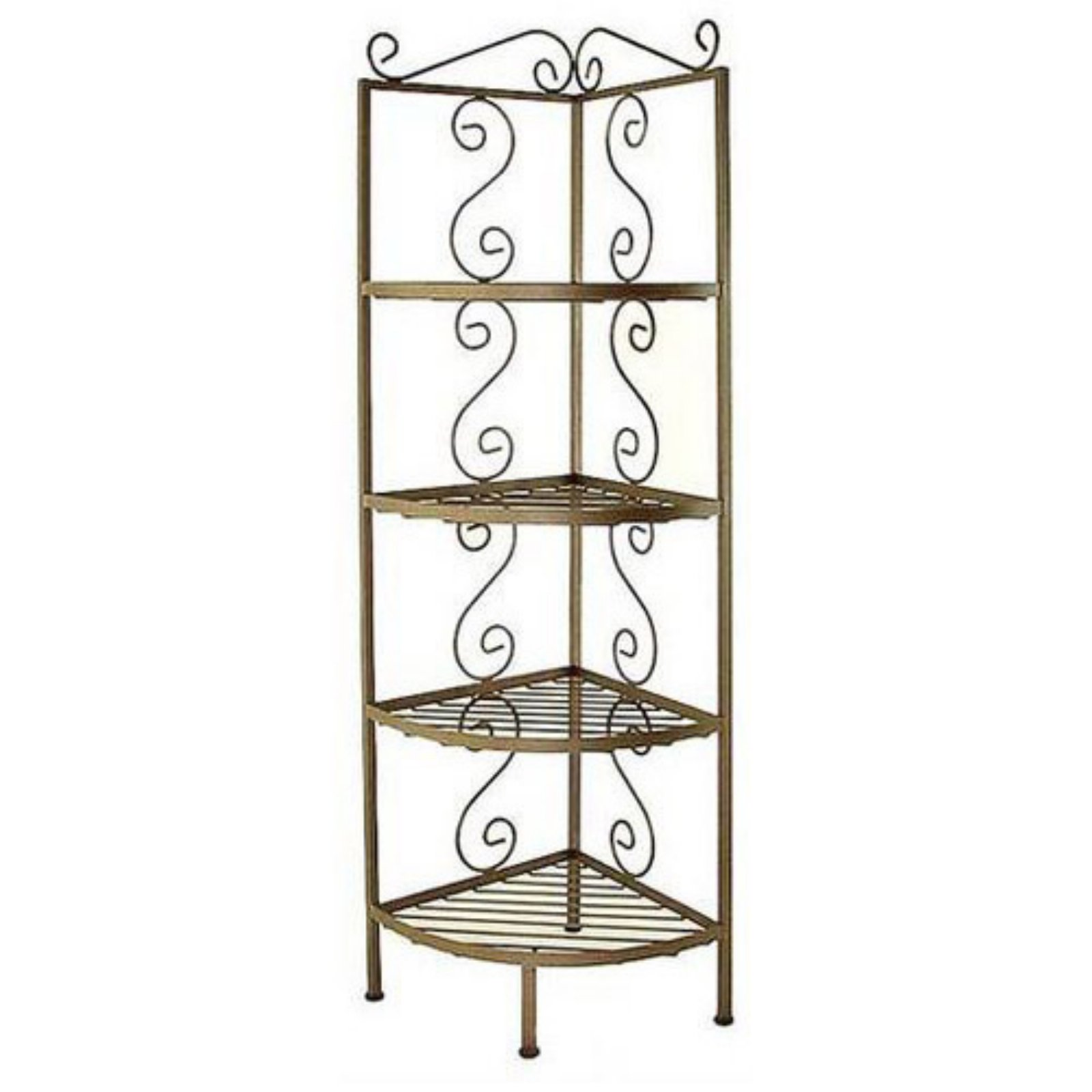 Small Caroline Corner Bakers Rack