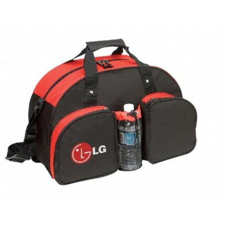DDI 1923505 Duffel Bag [Red-Black] - Style #070 Case of 24