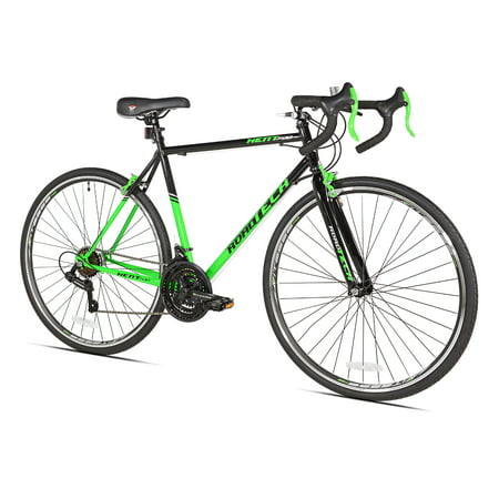 "Kent 700c RoadTech Men's Bike, Black/Green, For Height Sizes 5'4"" and Up"