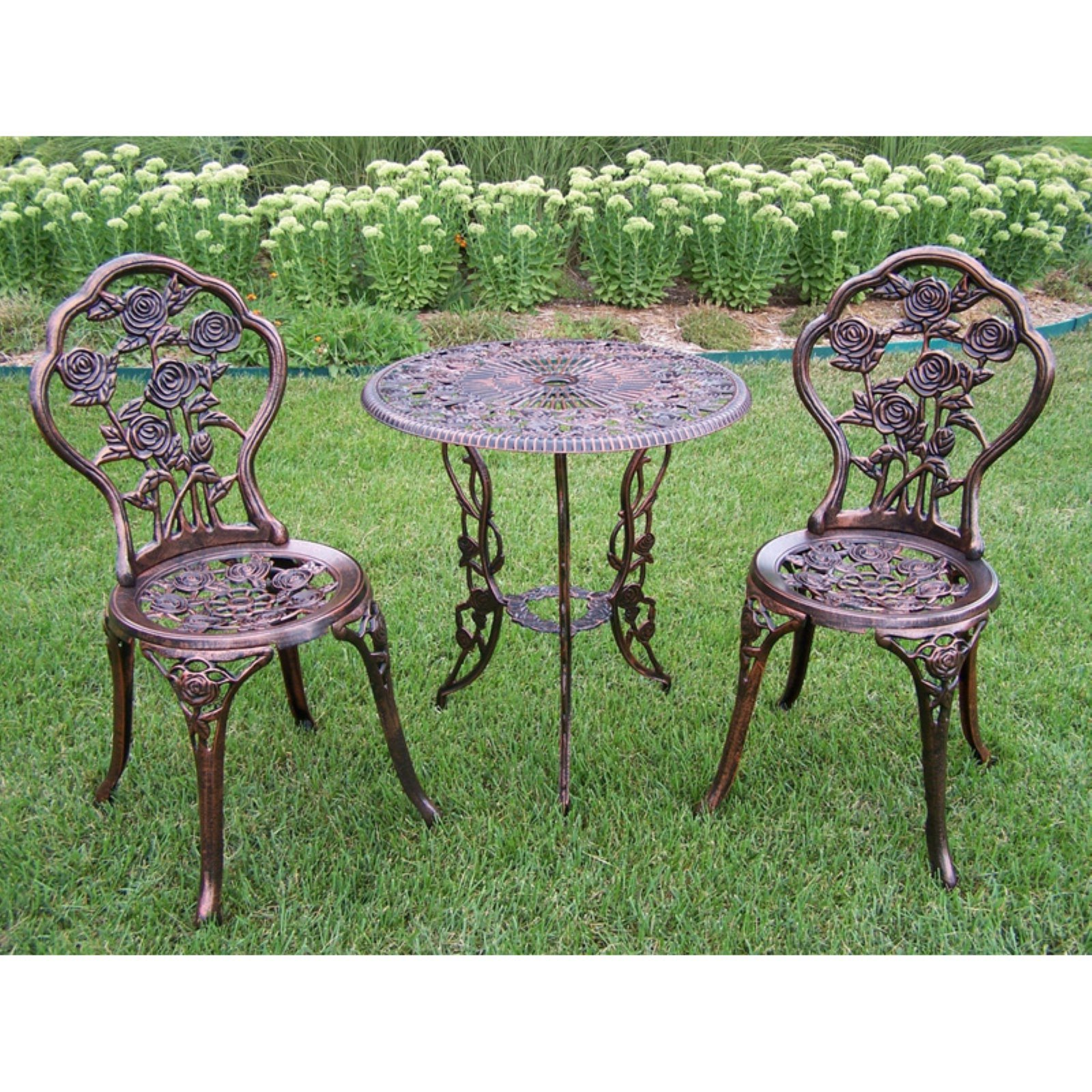 Oakland Living Rose Patio Bistro Set by Oakland Living
