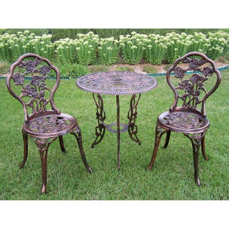 Rose 3-Piece Bistro Patio Set
