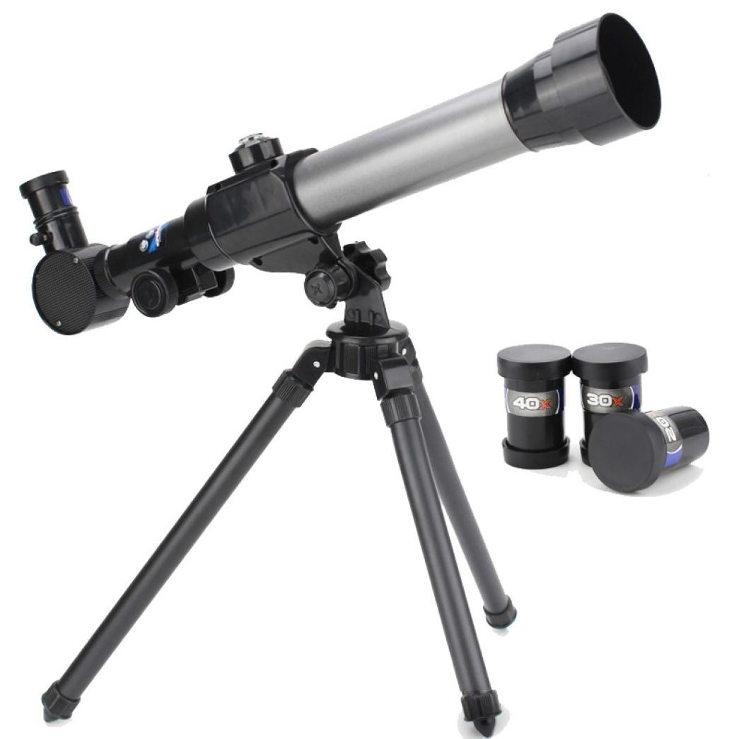 Astronomical Telescope for Kids Children Beginners Scientific Tool, 20X 30X 40X