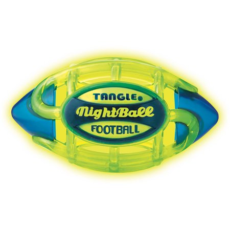 Tangle Nightball Football  Electric Green  Small